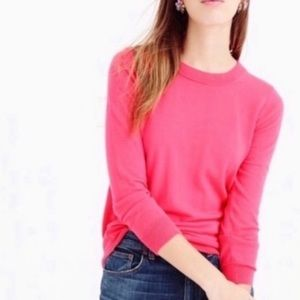 J. Crew Tippi Merino Wool Pink Sweater Sz XS